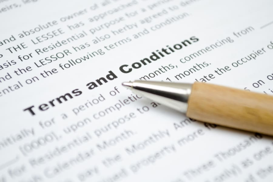 Terms & Conditions for Surveys