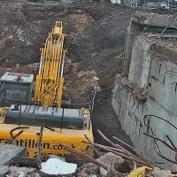 deep excavation, JCB, party wall notice