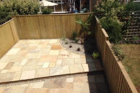 Homebuyer report hythe- new patio