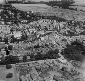 Hythe Kent Aerial View - History of your House