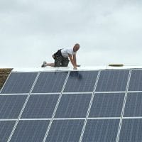 Solar panels dangerous workmanship HSE Health and Safety CDM