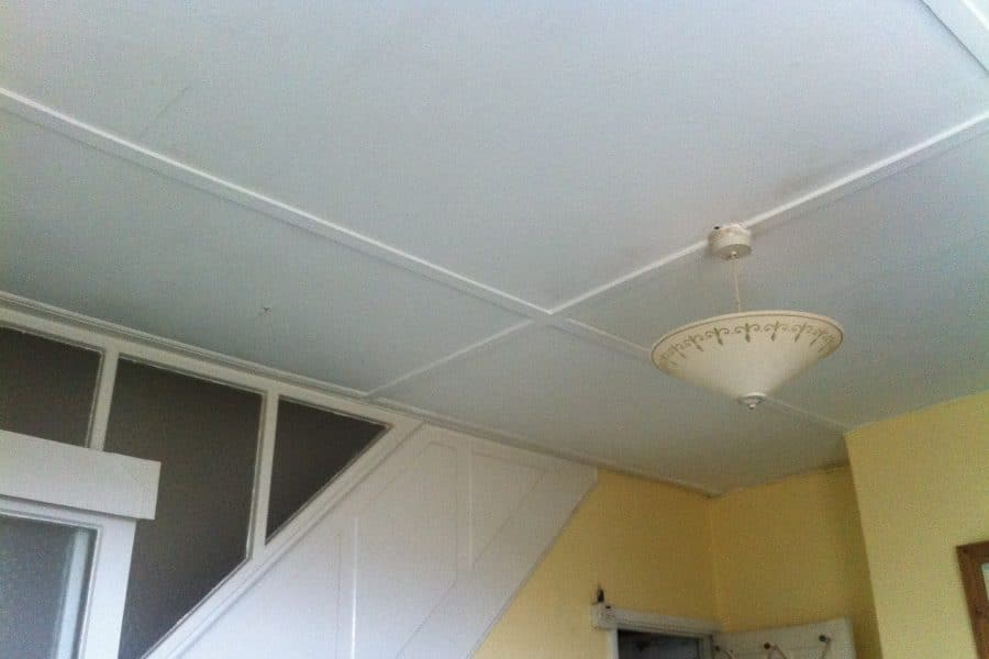 Asbestos Ceiling found on Building Survey