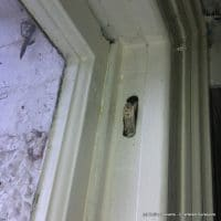 sash windows - defects - broken sash cords