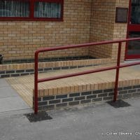 disabled access badly formed ramp