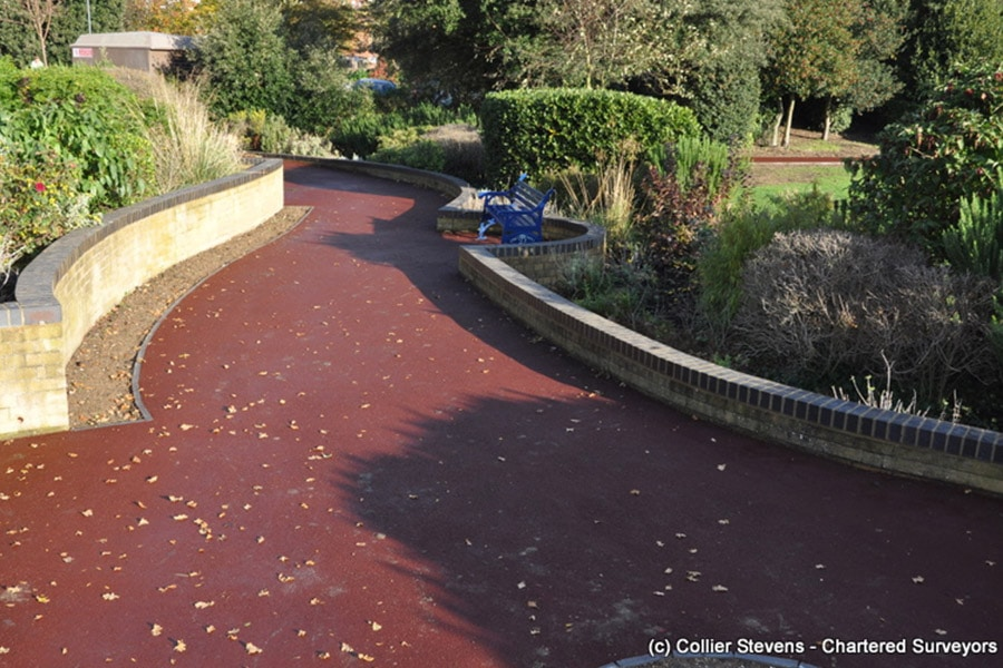 Oaklands, Hythe, Disabled Access Project and path improvements