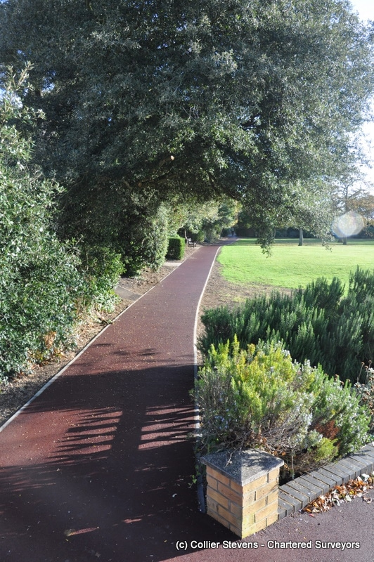 Oaklands hythe project management of accessible paths