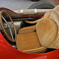corduroy fabric racing car seat