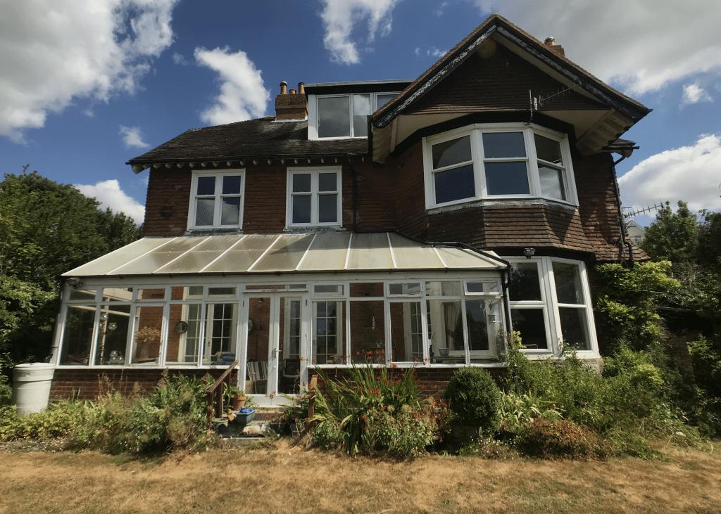 Building survey of Edwardian house, Hythe Kent