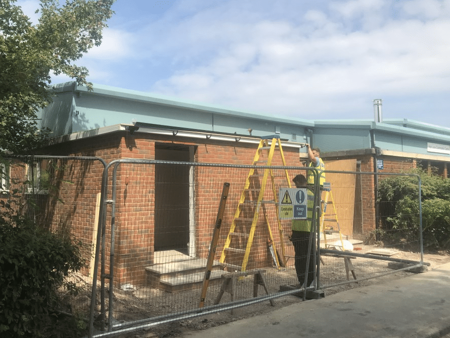 Refurbishment of Haslemere community centre - project management
