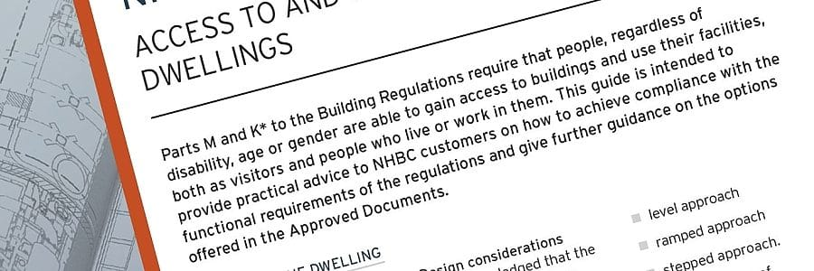 NHBC Guidance Note - disabled access to dwellings