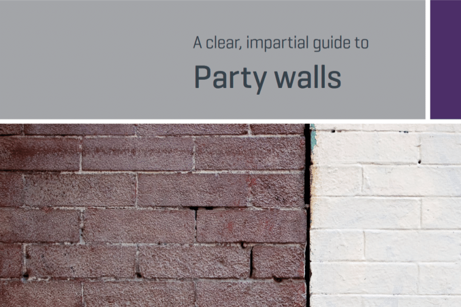 RICS Consumer Guide to Party Walls