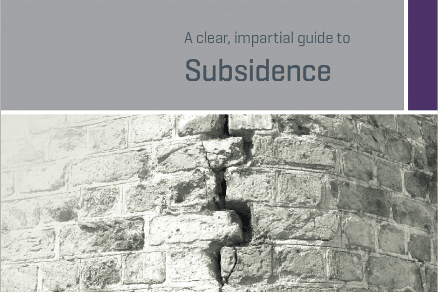 RICS Guide to Subsidence